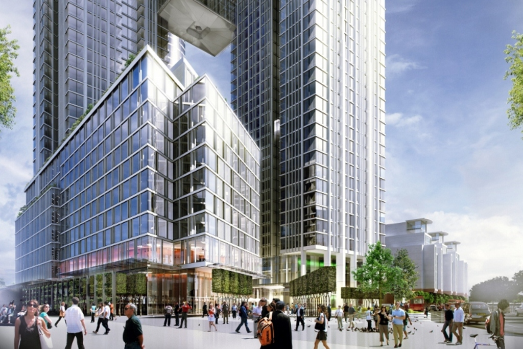 One Nine Elms external