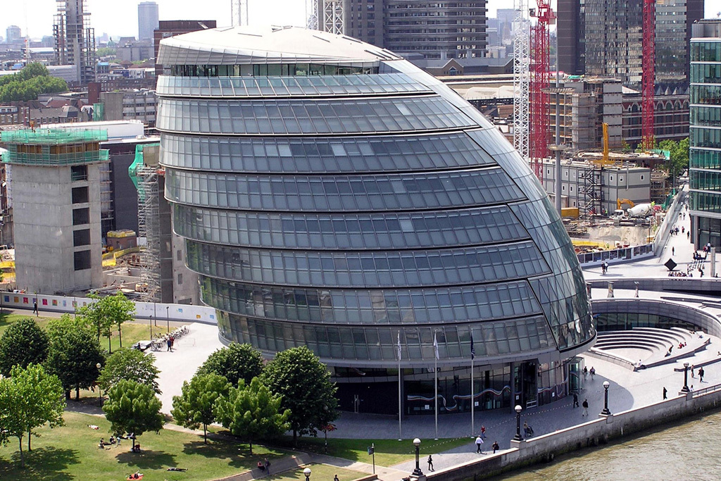 More London City hall external