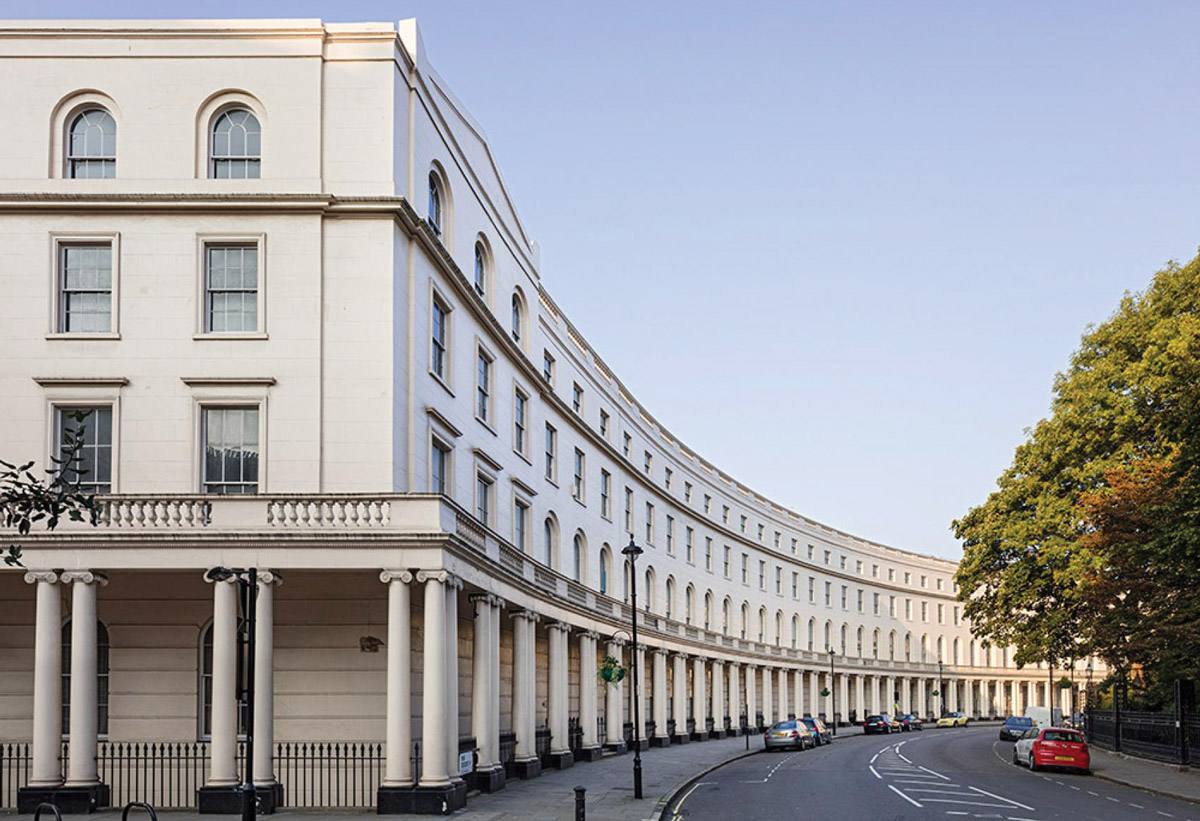 Park Crescent West external